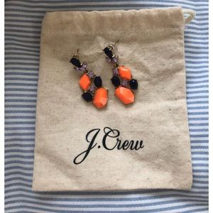 J. Crew Jewelry - J. Crew Cluster Stone Earrings